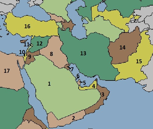 Geography anatomy of teaching middle east map gumiabroncs Images